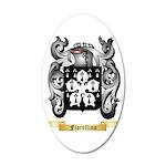 Fiorellino 35x21 Oval Wall Decal