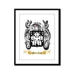 Fiorellino Framed Panel Print