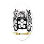 Fiorellini Oval Car Magnet