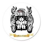 Fiorellini Round Car Magnet