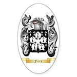 Fiore Sticker (Oval 50 pk)