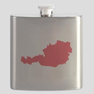 Austrian Map Flask