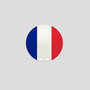 Flag of France Mini Button