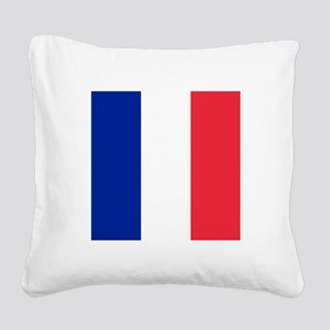 Flag of France Square Canvas Pillow