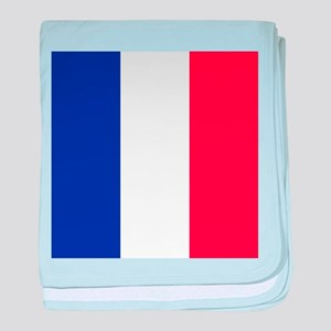 Flag of France baby blanket