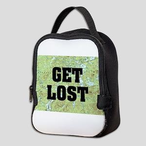 Get Lost Neoprene Lunch Bag