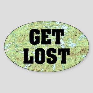 Get Lost Sticker