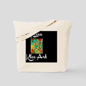 I Love Klee Art Tote Bag