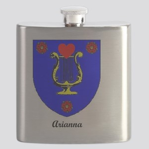 Arianna's Coat of Arms Flask
