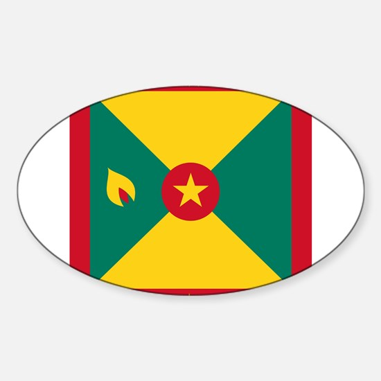 Flag of Grenada Decal
