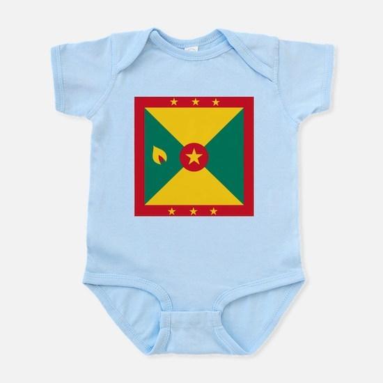Flag of Grenada Body Suit