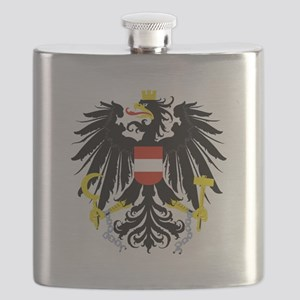 Austrian Coat of Arms Flask