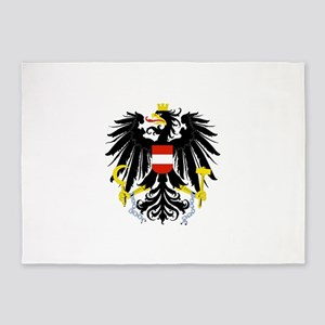 Austrian Coat of Arms 5'x7'Area Rug
