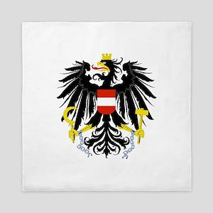 Austrian Coat of Arms Queen Duvet