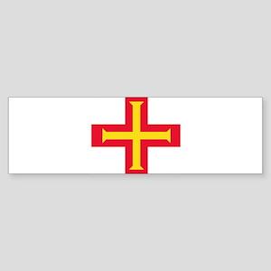 Flag of Guernsey Bumper Sticker