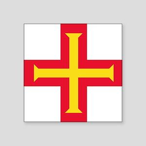 Flag of Guernsey Sticker