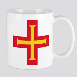 Flag of Guernsey Mugs