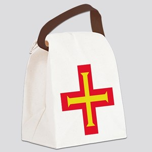Flag of Guernsey Canvas Lunch Bag