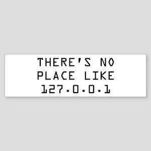 There's 127.0.0.1 Sticker (Bumper)