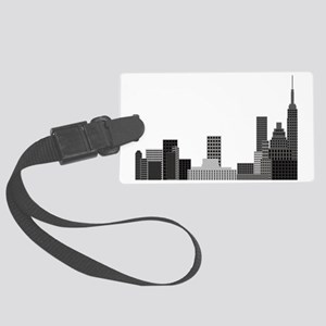 New York Skyline  Large Luggage Tag