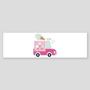 Ice Cream Truck Bumper Sticker
