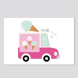 Ice Cream Truck Postcards (Package of 8)