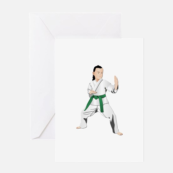 Karate - No Txt Greeting Card