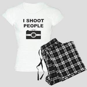 I Shoot People Black Camera Pajamas