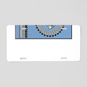 Blackfoot Tribe Aluminum License Plate