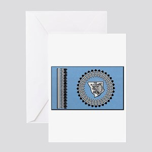 Blackfoot Tribe Greeting Cards