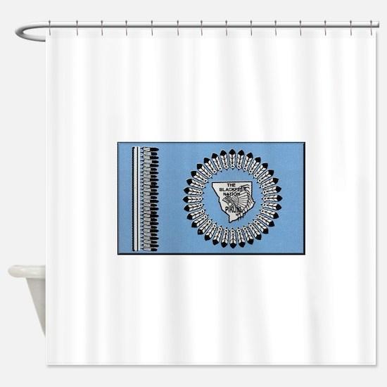 Blackfoot Indian Shower Curtains Cafepress
