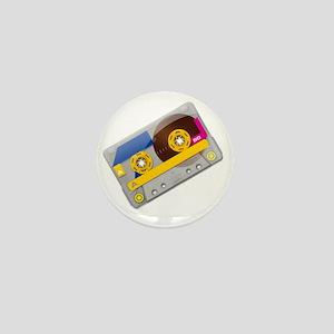 Retro Tape Mini Button
