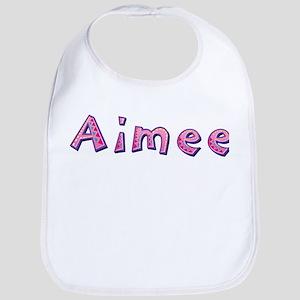 Aimee Pink Giraffe Bib