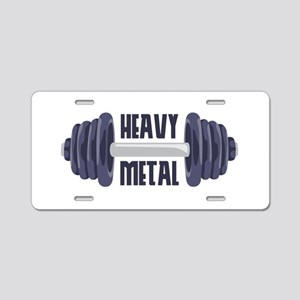 Heavy Metal Aluminum License Plate