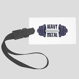 Heavy Metal Luggage Tag