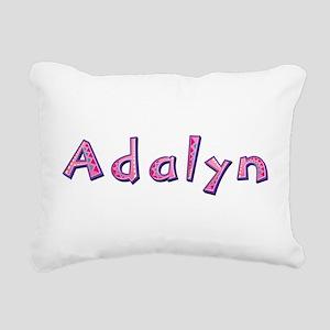 Adalyn Pink Giraffe Rectangular Canvas Pillow