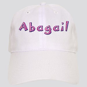 Abagail Pink Giraffe Baseball Cap