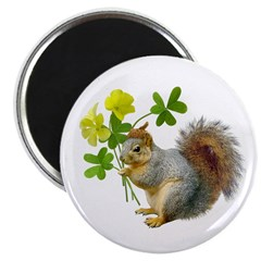 Squirrel Sourgrass Magnet