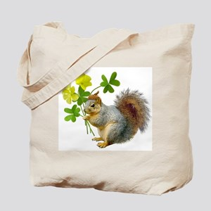Squirrel Sourgrass Tote Bag