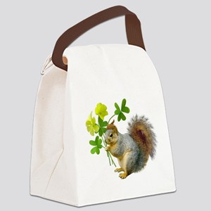 Squirrel Sourgrass Canvas Lunch Bag