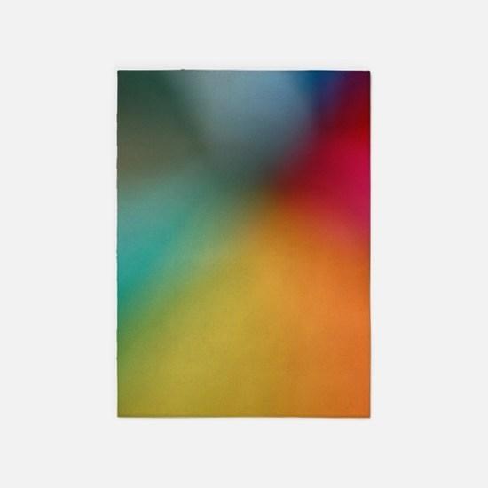 Abstract Art 5'x7'Area Rug