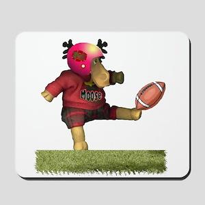 Football Moose Mousepad