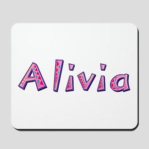 Alivia Pink Giraffe Mousepad