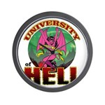 University of Hell Wall Clock