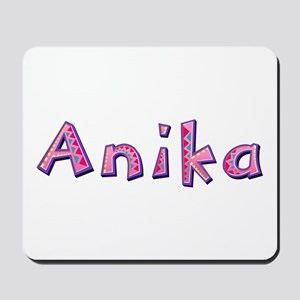 Anika Pink Giraffe Mousepad