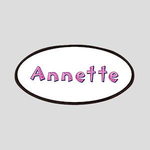 Annette Pink Giraffe Patch