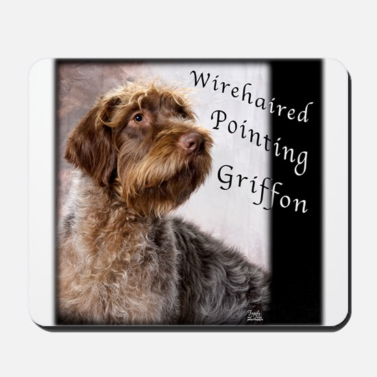 Wirehaired Pointing Griffon Mousepad