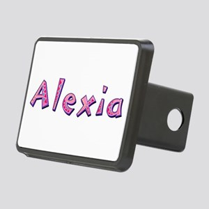Alexia Pink Giraffe Rectangular Hitch Cover
