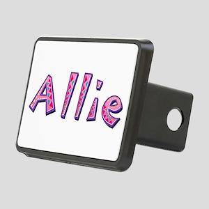 Allie Pink Giraffe Rectangular Hitch Cover