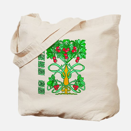 Go Green! Cloth Tote Bag for Groceries